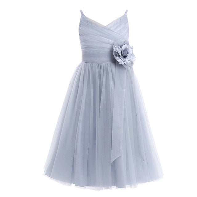 Girls grey tulle dress up to age 12 years-Fabulous Bargains Galore