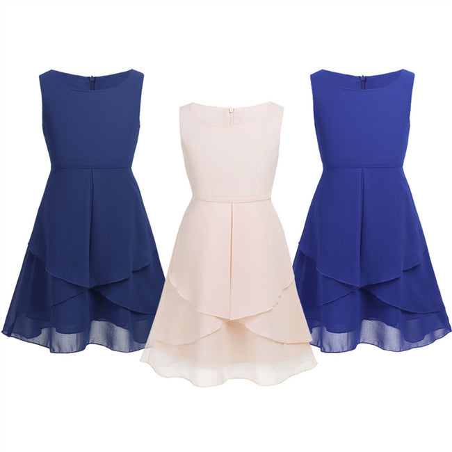 Little girl blue dress up to age 12 years-Fabulous Bargains Galore