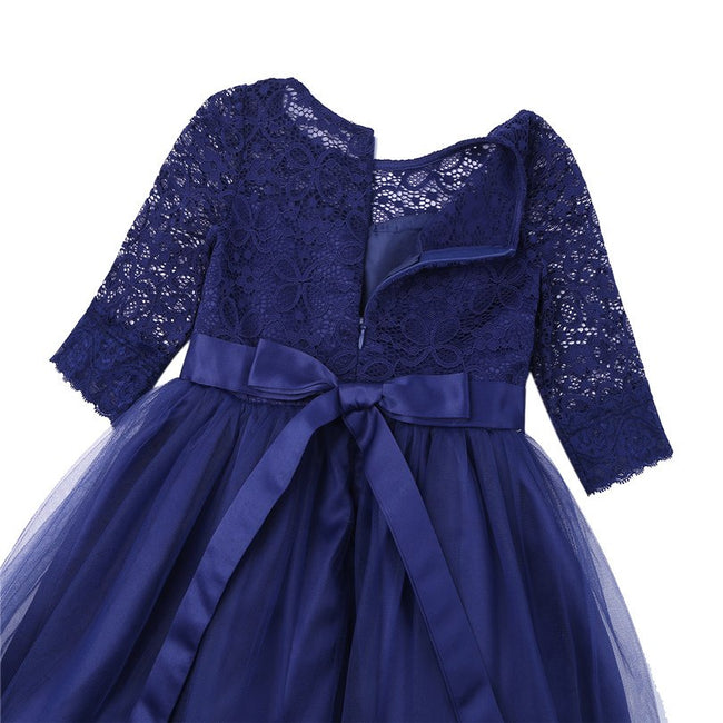 Vintage lace flower girl dress up to age 14 years-Fabulous Bargains Galore