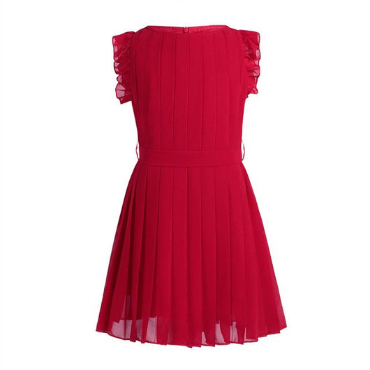 Cute red girls frilly dresses-Fabulous Bargains Galore