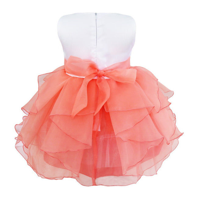 Baby girl organza dress up to age 3 years-Fabulous Bargains Galore