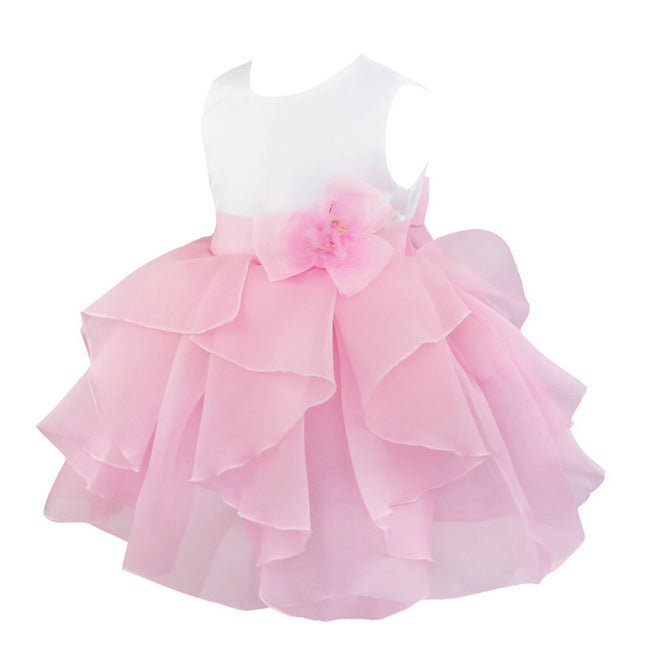Baby pink dress for flower girl up to age 3 years-Fabulous Bargains Galore