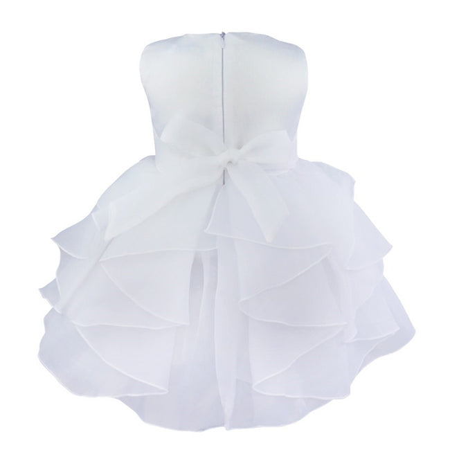 Baby ivory flower girl dress up to age 3 years-Fabulous Bargains Galore