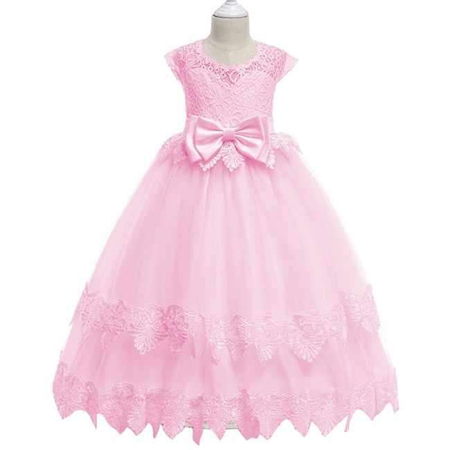 Girls pink bridesmaid dress up to age 12 years-Fabulous Bargains Galore