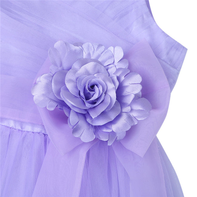 Spaghetti strap tulle flower girl dress up to age 12 years-Fabulous Bargains Galore