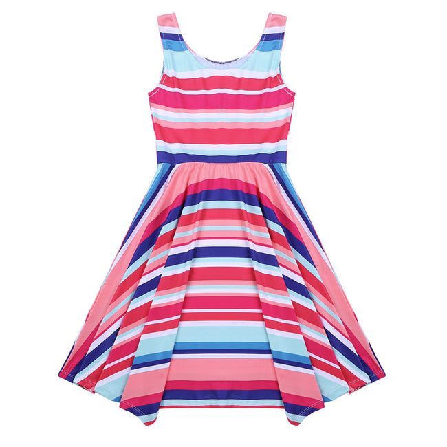 Striped dress for kids up to age 12 years-Fabulous Bargains Galore
