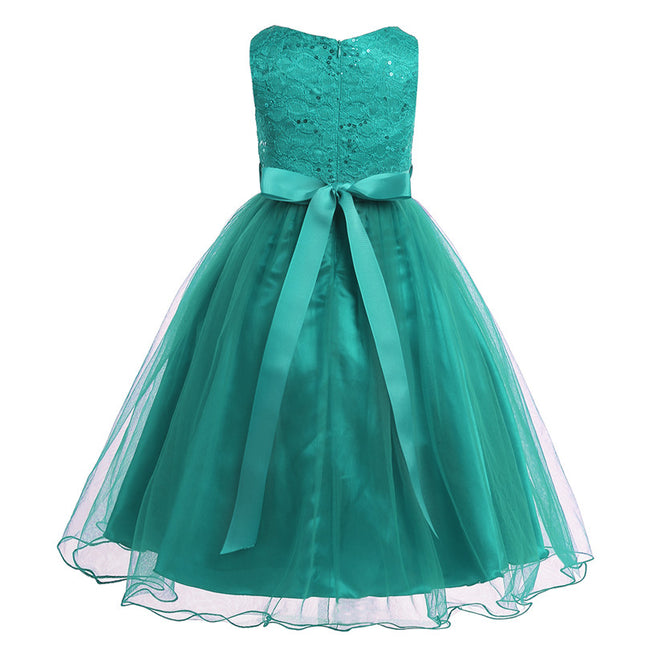 Girls sequin tulle dress up to age 14 years-Fabulous Bargains Galore