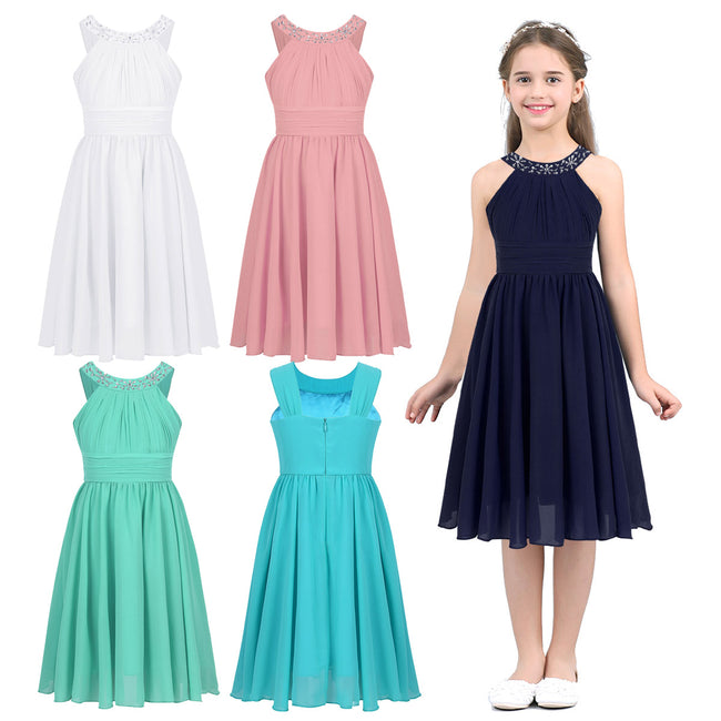 Girls mint green dress up to age 14 years-Fabulous Bargains Galore