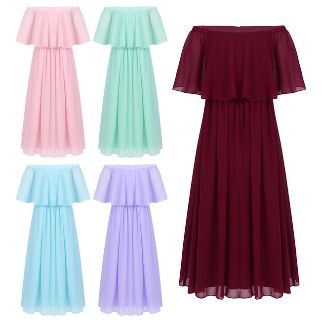 Flower girl young bridesmaid dress up to age 16 years-Fabulous Bargains Galore