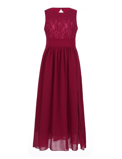 Girls long red dress up to age 8 years-Fabulous Bargains Galore