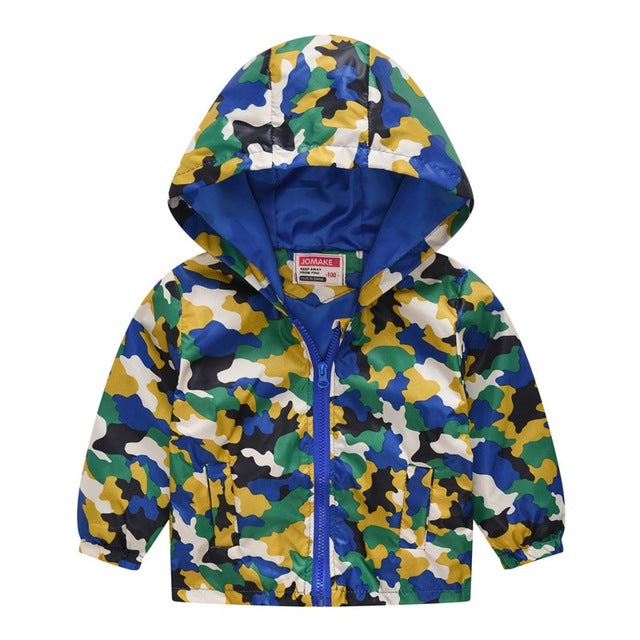 Boys lightweight rain jacket in green up to 7 years-Fabulous Bargains Galore