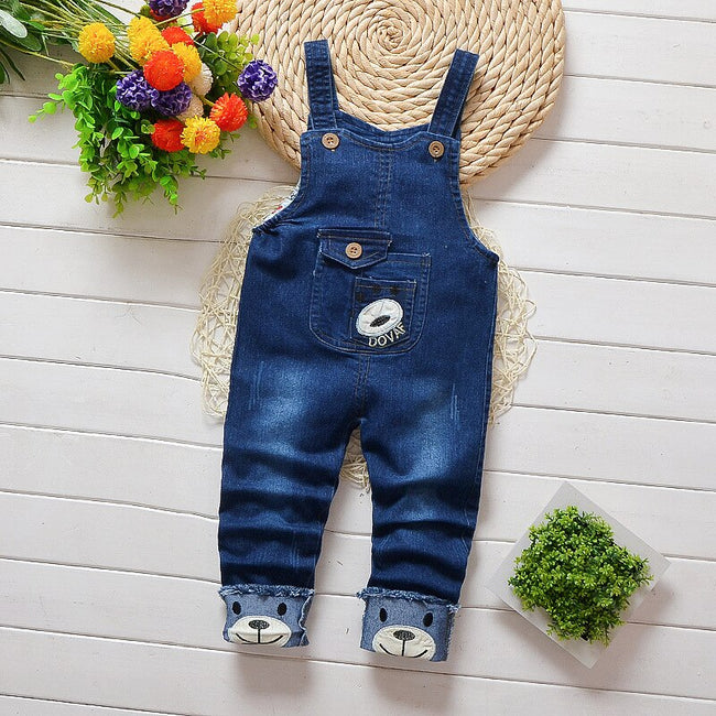 Baby boys denim short dungarees in blue up to 4 years-Fabulous Bargains Galore