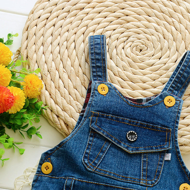 Boys blue dungarees up to 4 years-Fabulous Bargains Galore