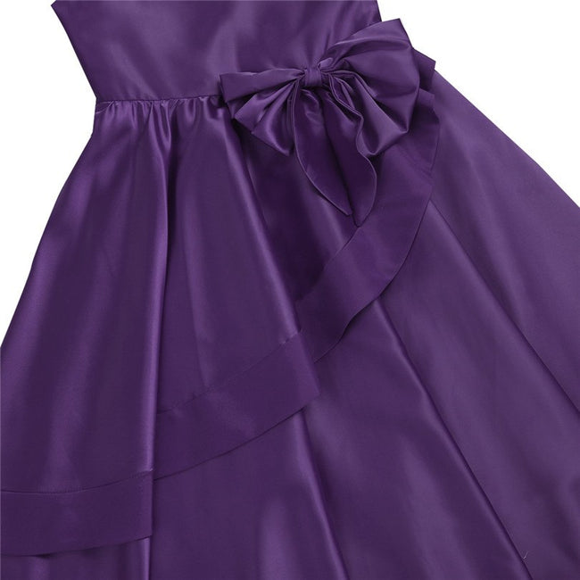 Satin dress for kids girl up to age 14 years-Fabulous Bargains Galore