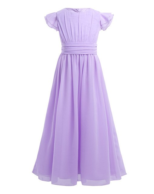 Girls lilac bridesmaid dress up to age 14 years-Fabulous Bargains Galore