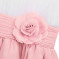 White pink flower girl dress up to age 14 years-Fabulous Bargains Galore