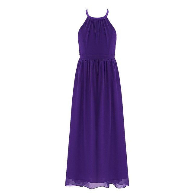 Royal purple flower girl dress up to age 14 years-Fabulous Bargains Galore