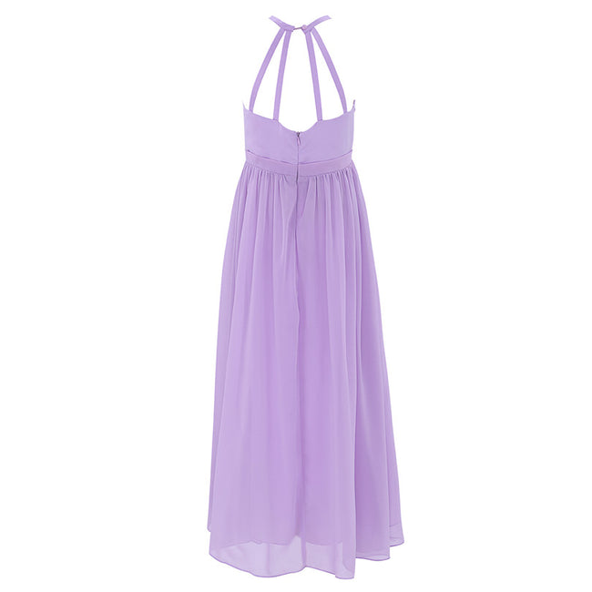 Lavender dress for flower girl up to age 14 years-Fabulous Bargains Galore