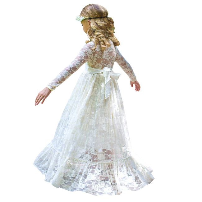 Vintage lace toddler dress up to age 10 years-Fabulous Bargains Galore