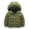 Baby boy bubble jacket in dark green up to 6 years-Fabulous Bargains Galore