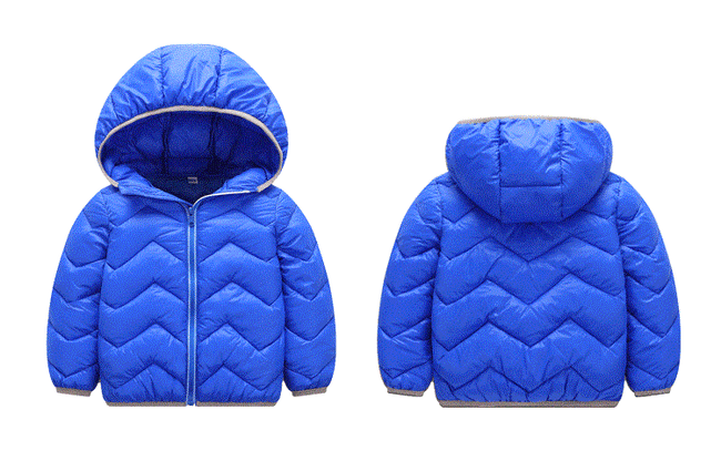 Toddler boy bubble coat in blue up to 6 years-Fabulous Bargains Galore