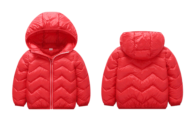 Boys bubble coat in red up to 6 years-Fabulous Bargains Galore