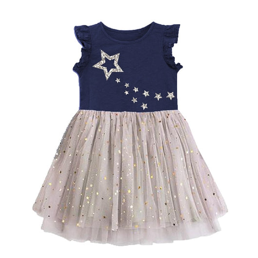 Shinny star frocks for girls-Fabulous Bargains Galore