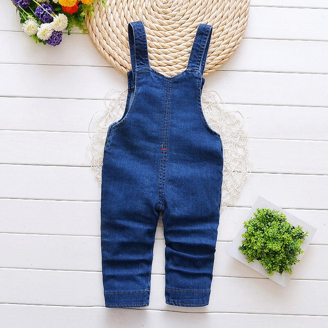 Baby boy short dungarees in blue up to 3 years-Fabulous Bargains Galore