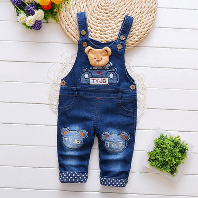 Blue baby boys overall shorts-Fabulous Bargains Galore