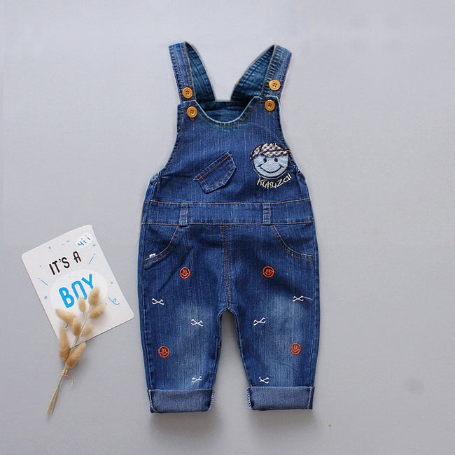 Boys short dungarees in blue up to 4 years-Fabulous Bargains Galore