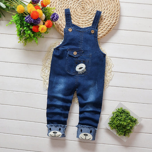 Blue baby boy dungaree shorts-Fabulous Bargains Galore