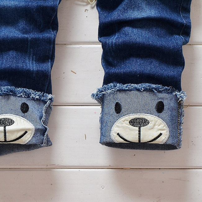 Baby boy denim dungarees in blue up to 4 years-Fabulous Bargains Galore