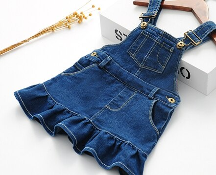 Cute denim blue girls overall 3-7 years-Fabulous Bargains Galore