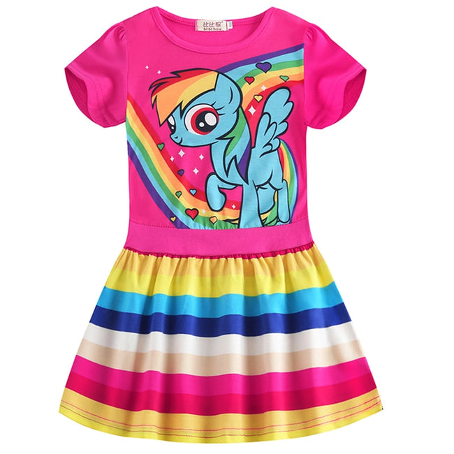 Unicorn pink dress up to age 8 years-Fabulous Bargains Galore