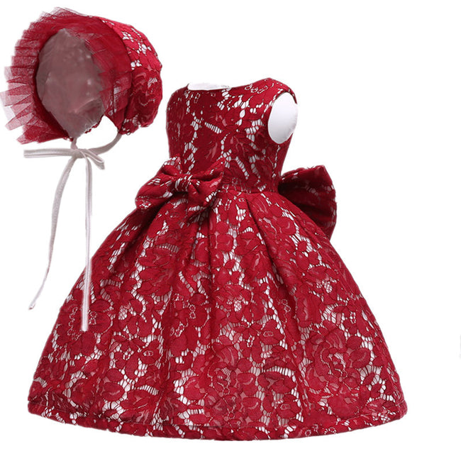 Vintage lace baby dress up to 24 months-Fabulous Bargains Galore