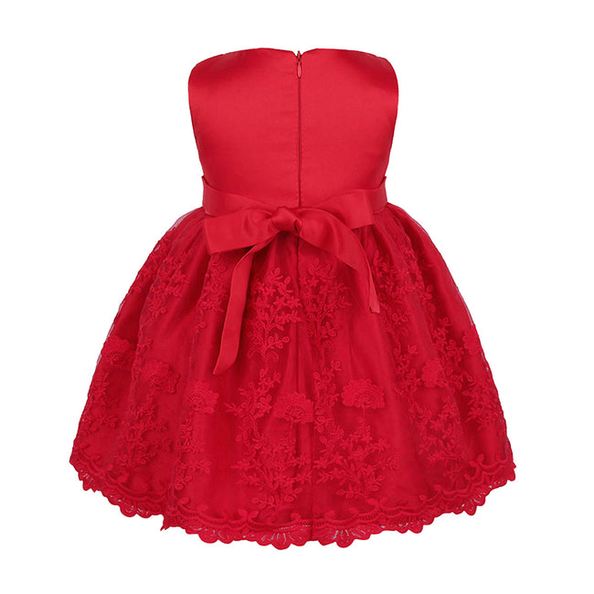 Red lace toddler dress up to 18 months-Fabulous Bargains Galore