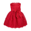 Red lace toddler dress up to 18 months
