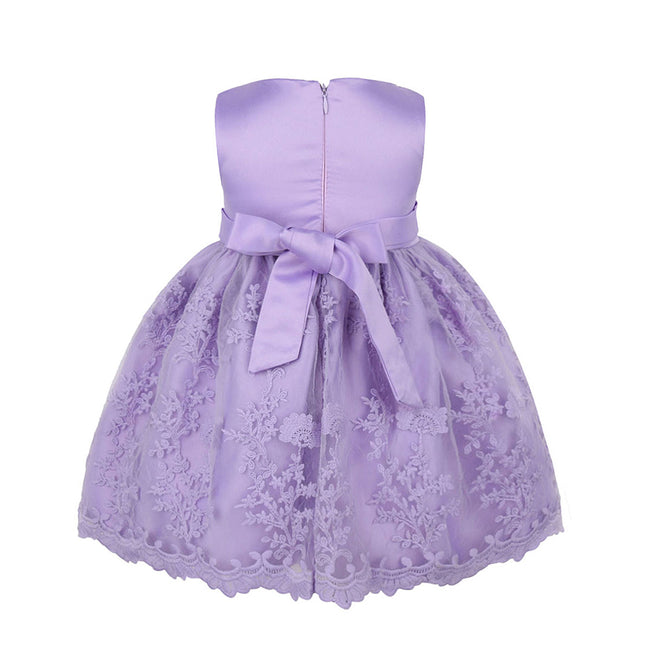 Burgundy lace dress for little girls up to 18 months-Fabulous Bargains Galore