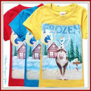 Frozen Olaf and Sven Boys Top - Fabulous Bargains Galore