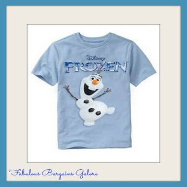 Frozen Olaf Boys Top-Fabulous Bargains Galore