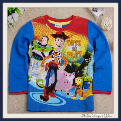 Toy Story Boys Top-Fabulous Bargains Galore