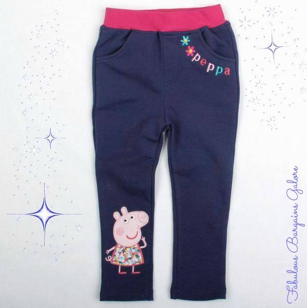 Cute Navy Girls Trousers