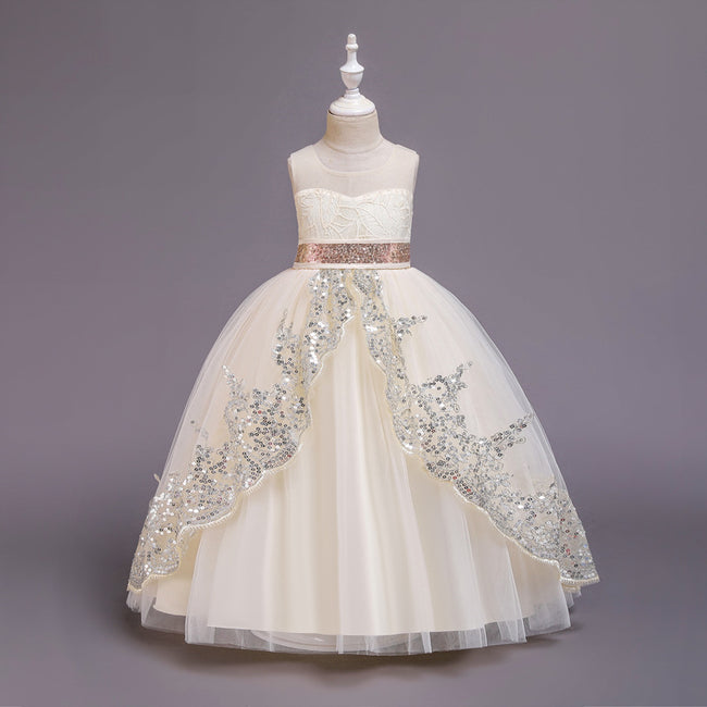 Tulle ball gown flower girl dresses up to age 16 years-Fabulous Bargains Galore
