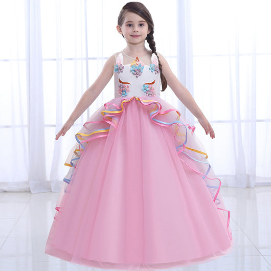 Unicorn ball gown for girls 5-16 years-Fabulous Bargains Galore