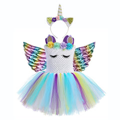 Unicorn outfit toddler with fairy wings - Fabulous Bargains Galore