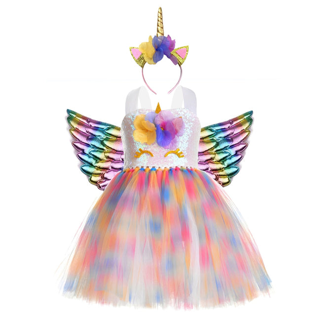 Unicorn fancy dress for kids up to age 12 years-Fabulous Bargains Galore