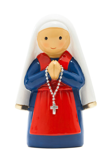 Saint Bernardette statue - Little Drops of Water