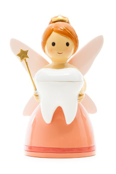 Tooth fairy light salmon color statue - Little Drops of Water