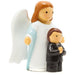 First Communion, An angel and a boy statue - Little Drops of Water