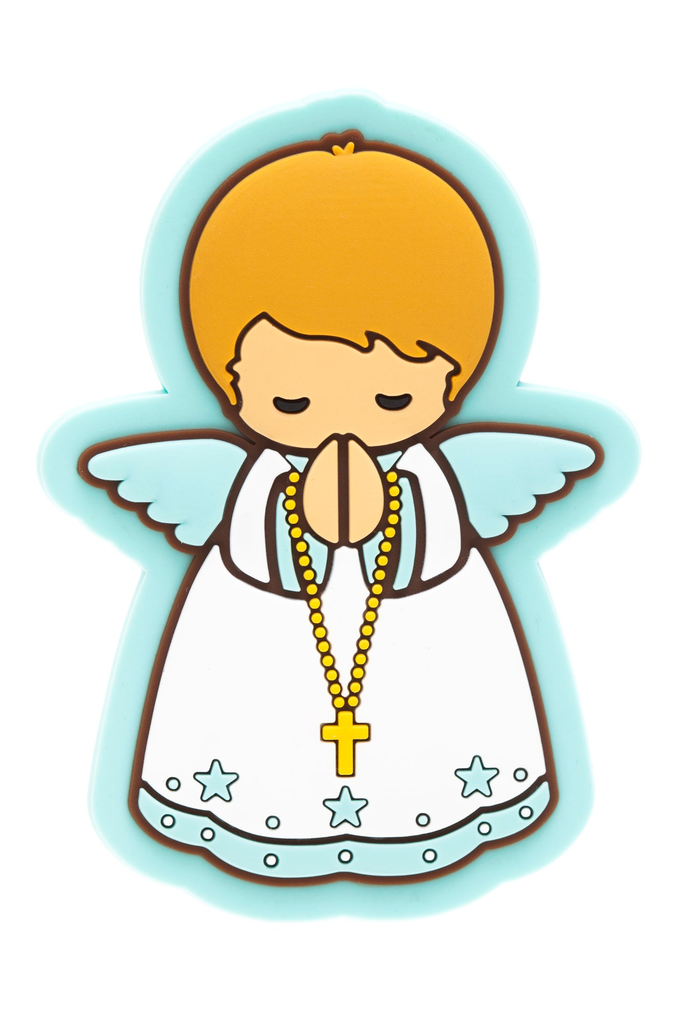 Baby boy angel fridge magnet - Little Drops of Water